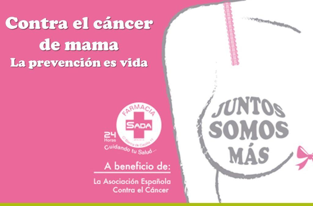Contra el Cáncer de Mama la prevención es vida