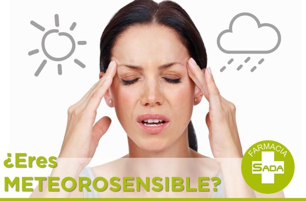 ¿Eres meteorosensible?