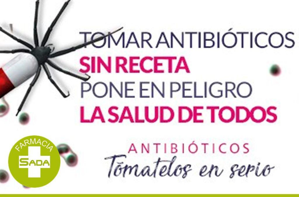 Tomar antibióticos sin receta pone en peligro la salud de todos.