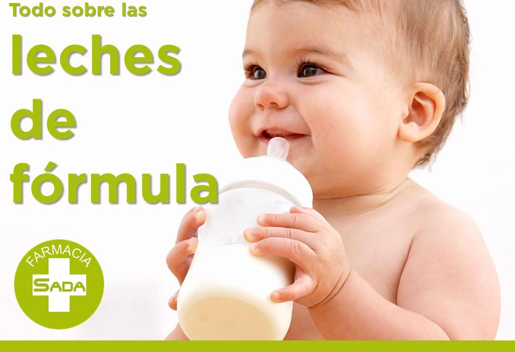 Todo sobre las leches de fórmula para el bebé