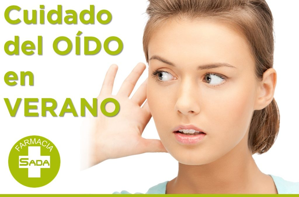 Cuidado y limpieza del oído en el verano