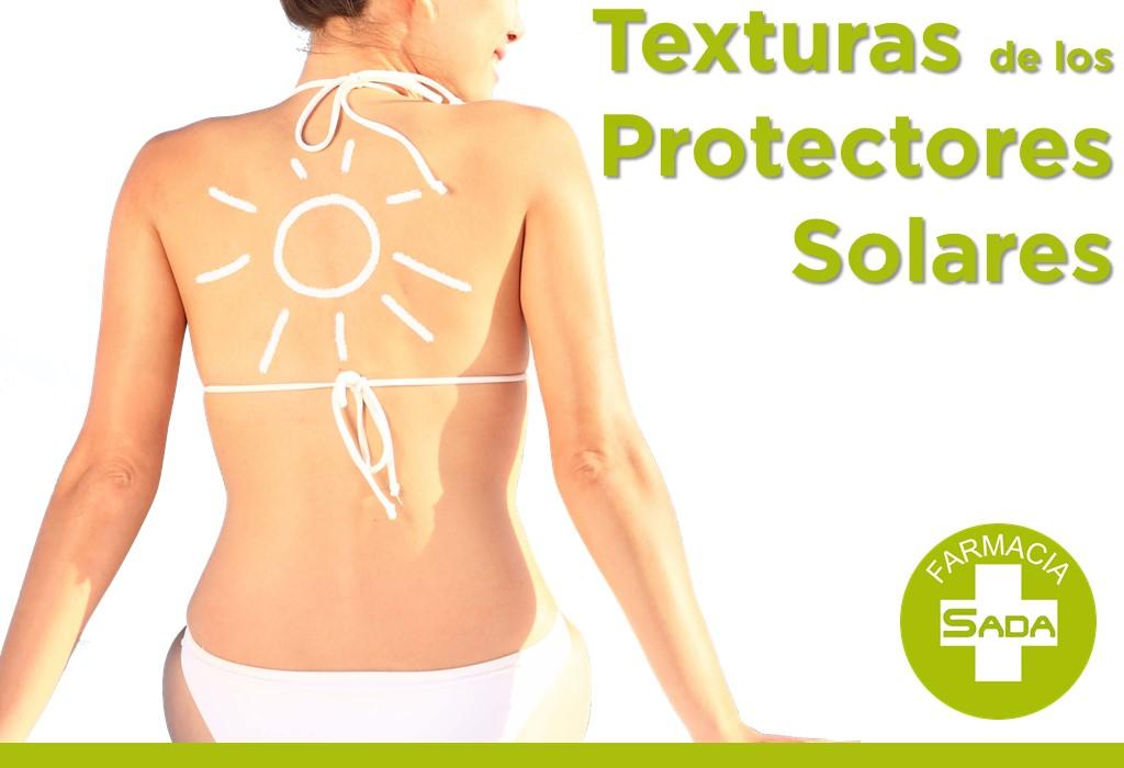Texturas de los Protectores Solares