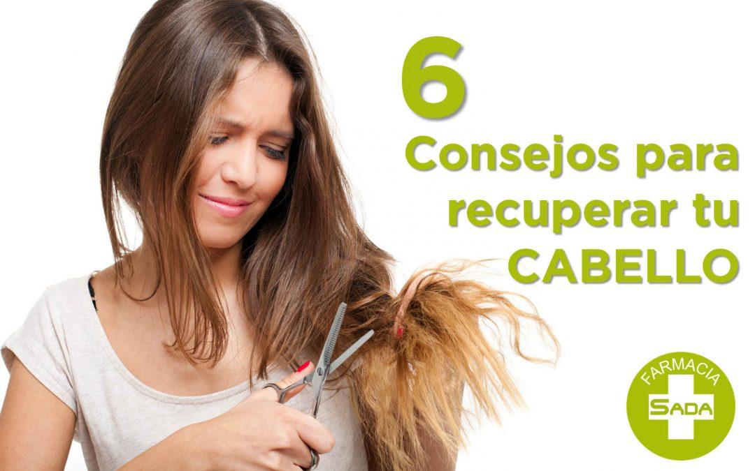 6 Consejos para recuperar tu pelo después de las vacaciones