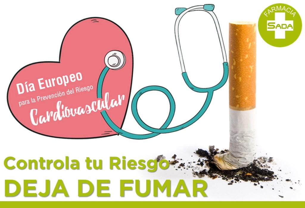 Controla tu Riesgo Cardiovascular – DEJA DE FUMAR