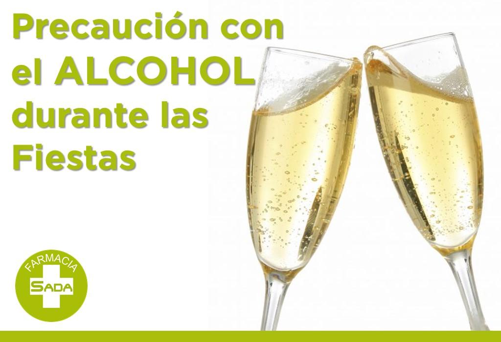 Precaución con el Alcohol durante las Fiestas