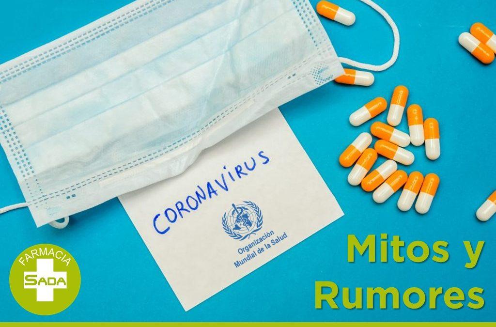 Coronavirus mitos y rumores