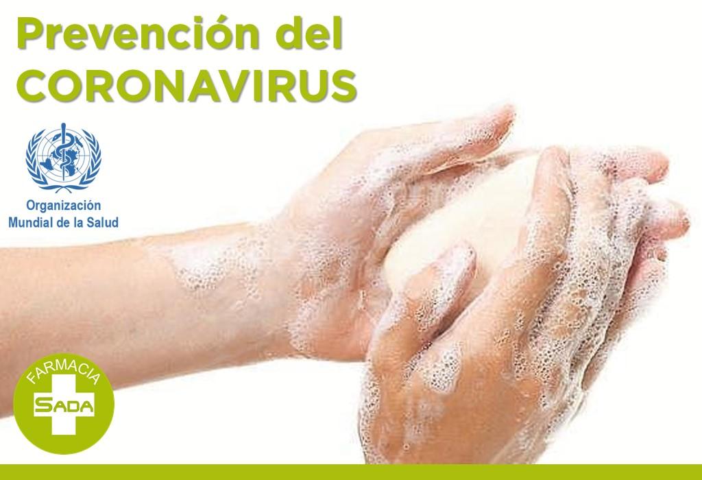 Prevención del Coronavirus