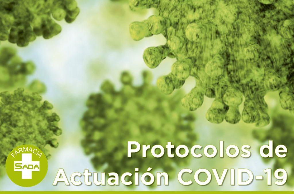 Protocolos de actuación COVID-19
