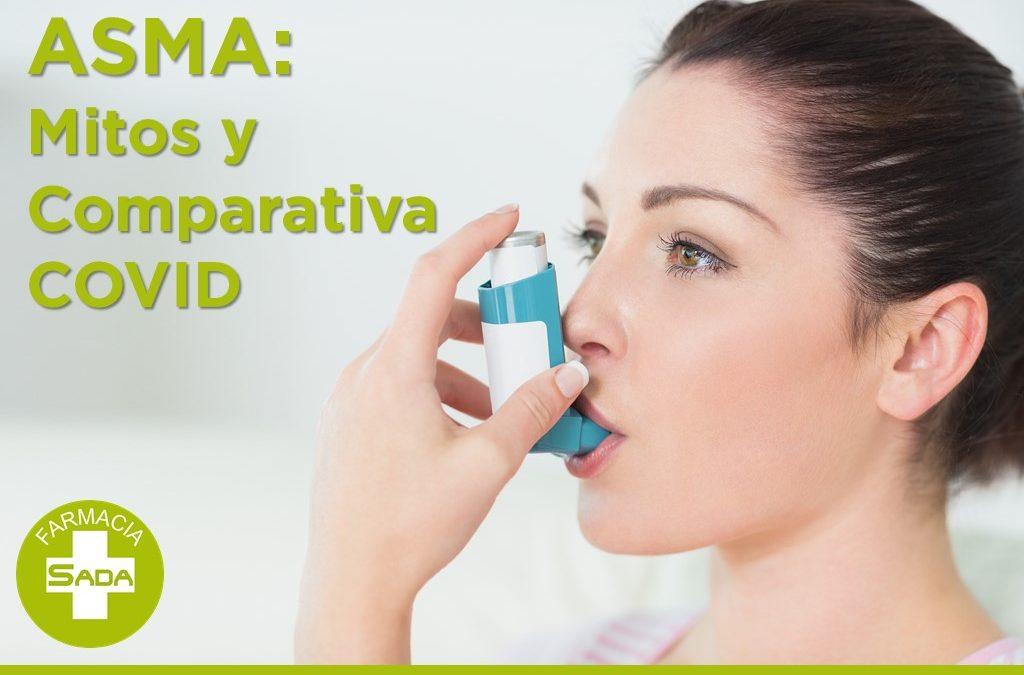 Asma: Mitos y Comparativa COVID